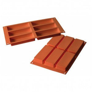 Siliconflex rektangel 120x45x20 mm 6 fig 3-pack