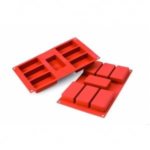 Siliconflex rektangel 87x48x24 mm 7 fig 3-pack