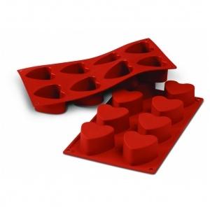Siliconflex hjärta D=65x35 mm 8 fig 3-pack