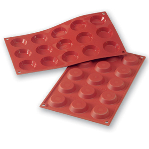 Siliconflex tartlett D=45x10 mm 15 fig 3-pack