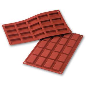 Siliconflex rektangel 49x26x11 mm 20 fig 3-pack