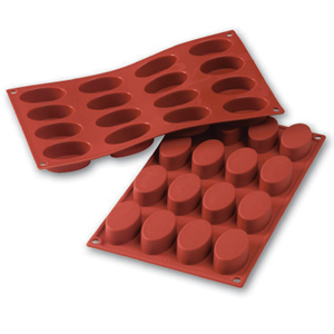 Siliconflex oval 55x33x20 mm 16 fig 3-pack