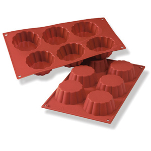 Siliconflex briochette D=79x30 mm 8 fig 3-pack