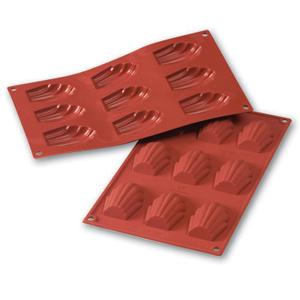 Siliconflex madeleine 68x45x17 mm 9 fig 3-pack