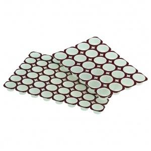 Muffinsform, rund  24st/tråg, 50tråg/fp Ø 63xK36 mm