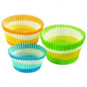 Muffinsform Circle, grön 62x40 mm, 1000 st/fp.