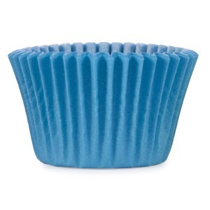Muffinsform, turkos, mini 1000 st/fp
