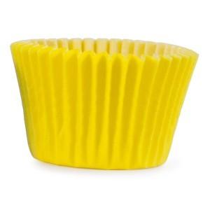 Muffinsform, gul, mini 1000 st/fp