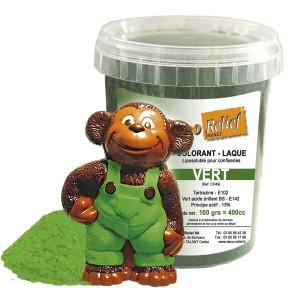Chokladfärg, pulver - grön