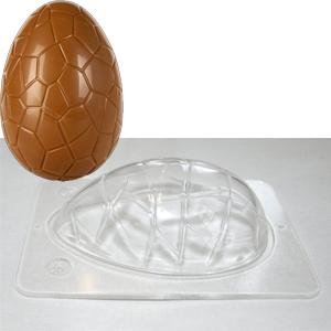 Chokladform, ägg 100 mm