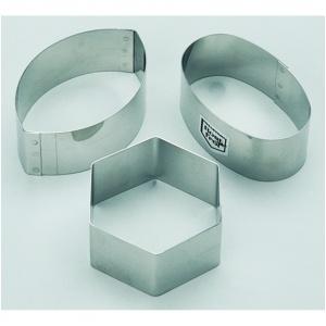 Utstickare, oval 75x50 H30 mm