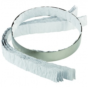 Plastband barkmönster 800x40 mm 10 st/fp