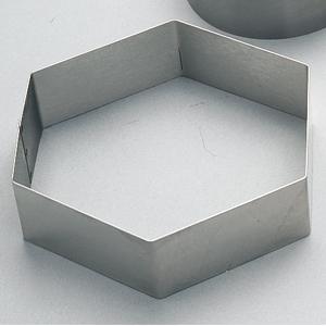Tårtring 6-kant. 180 / H 50 mm