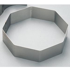 Tårtring 8-kant. 160 / H 50 mm