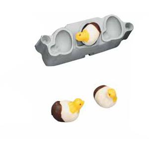 Marsipanform Kycklingar 15 gr, 3-set