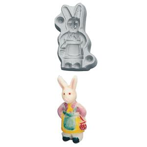 Marsipanform Hare flicka 20 gr