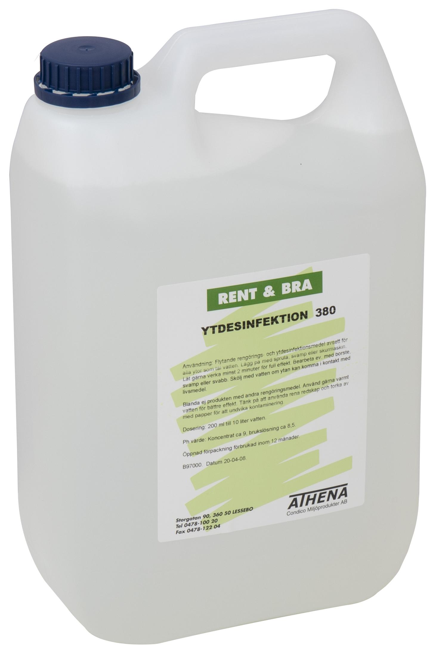 Ytdesinfektion, konc, 5 liter