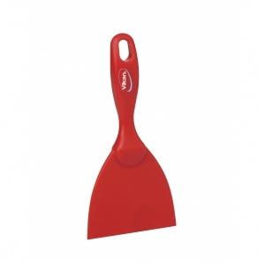 Handskrapa, röd 102 mm