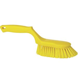 Handborste  hård, gul
