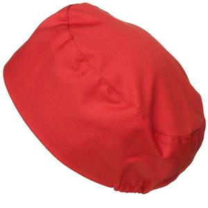 Bagarmössa, röd S/M