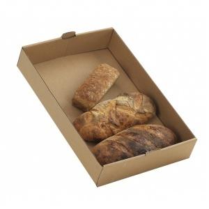Brödback, brun 564x382x130 mm, 25 pack