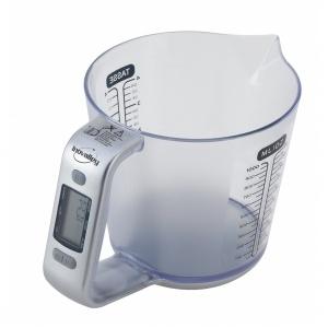 Köksmått, 1 liter, inbyggd elektronisk våg