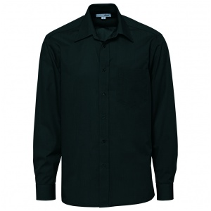 Skjorta herr svart stl S-XXL