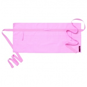 Förkläde midje, rosa 70x32 cm