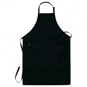 Bröstlappsförkläde svart