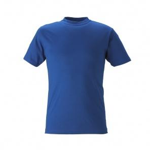 T-shirt,unisex, blå XXL