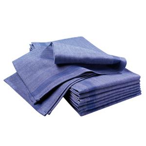 Handduk 6-pack blå