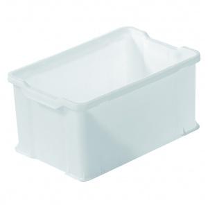 Plastback vit, 600x400x300 mm, 54 L