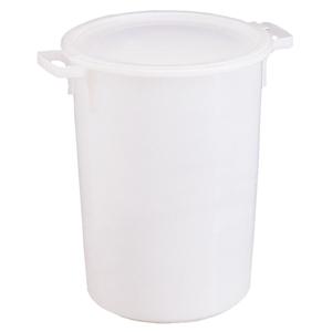 Tunna för surdeg, lock, plast, 75 lit