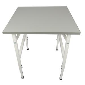 Arbetsbord standard, grå, 800x800mm