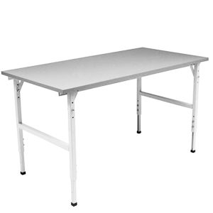 Arbetsbord standard, grå, 2400x800mm
