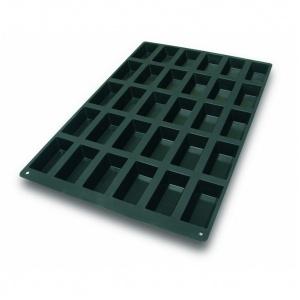 Silikonform, Rektangel, 600x400 mm, 30 fig