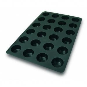 Silikonform, Muffins, 600x400 mm, 24 fig