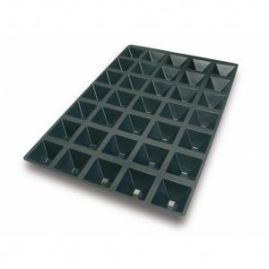 Silikonform, Pyramid, 600x400 mm, 35 fig