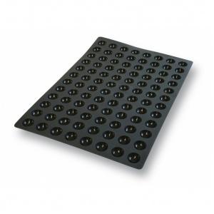 Silikonform, Mini halvklot, 600x400 mm, 96 fig