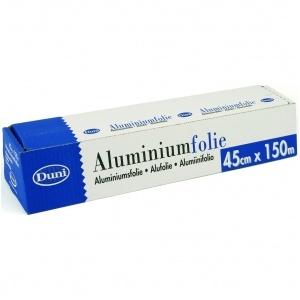Aluminiumfolie i disp med rivkant 45 cm x 150 m