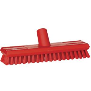 Golvskurborste  65x275 mm, röd