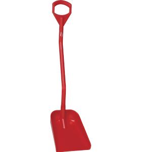 Skyffel L1120, polypropylen, röd