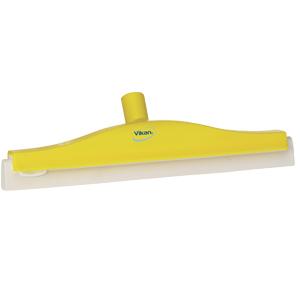 Golvskrapa  ledbar för skaft  50x400 mm, gul