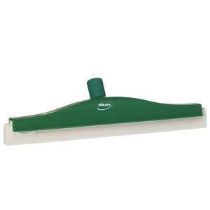 Golvskrapa  ledbar för skaft  50x400 mm, grön