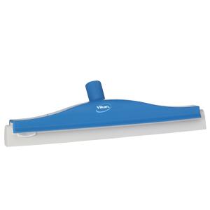 Golvskrapa  ledbar för skaft  50x400 mm, blå