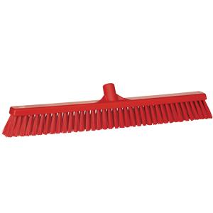 Golvsopborste 50x600 mm, röd
