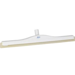 Golvskrapa  ledbar för skaft  50x600 mm, vit