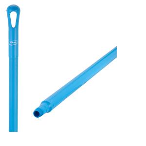 Skaft ultrahygieniska blå 34x1500 mm