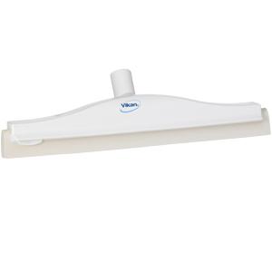 Golvskrapa  ledbar för skaft  50x400 mm, vit
