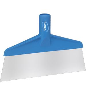 Skrapa för skaft  280 mm blå